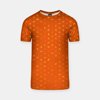 cancer zodiac sign pattern yo T-shirt thumbnail image