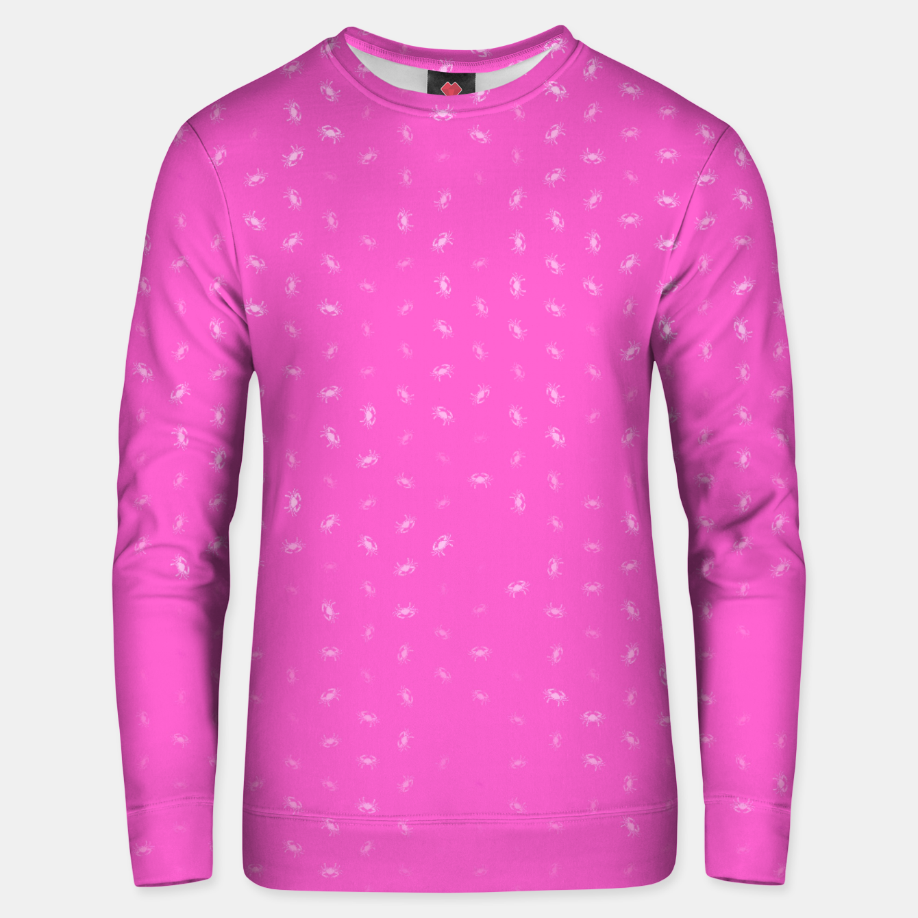 Image of cancer zodiac sign pattern mag Unisex sweater - Live Heroes