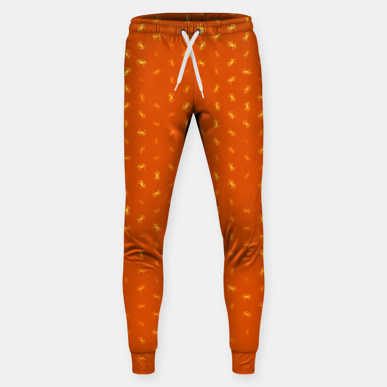 Image of cancer zodiac sign pattern yo Sweatpants - Live Heroes