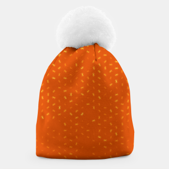 cancer zodiac sign pattern yo Beanie thumbnail image