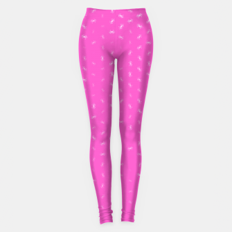 cancer zodiac sign pattern mag Leggings thumbnail image