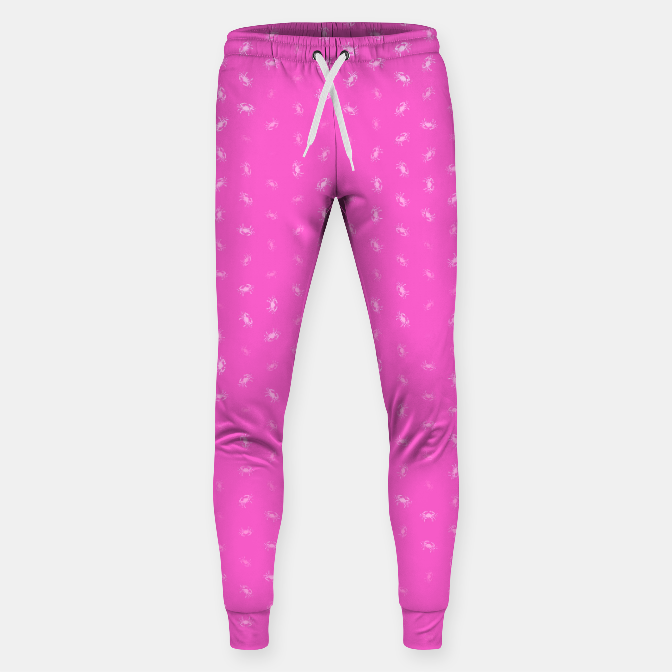 Image of cancer zodiac sign pattern mag Sweatpants - Live Heroes