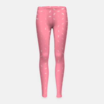 cancer zodiac sign pattern pw Girl's leggings thumbnail image