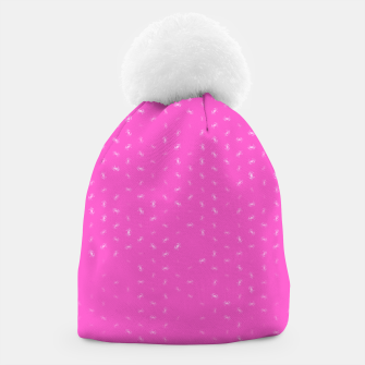 cancer zodiac sign pattern mag Beanie thumbnail image