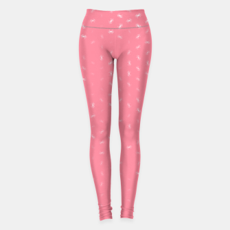 cancer zodiac sign pattern pw Leggings thumbnail image
