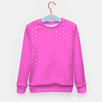 cancer zodiac sign pattern mag Kid's sweater thumbnail image