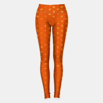 cancer zodiac sign pattern yo Leggings thumbnail image