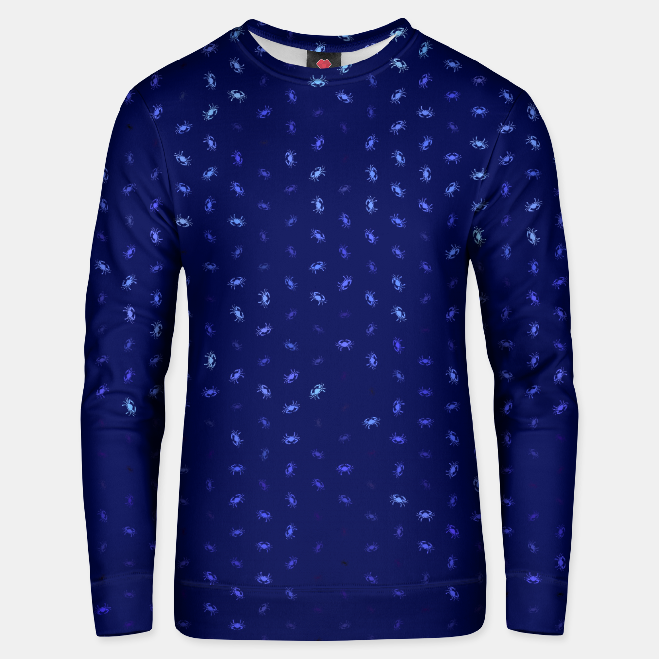 Image of cancer zodiac sign pattern std Unisex sweater - Live Heroes