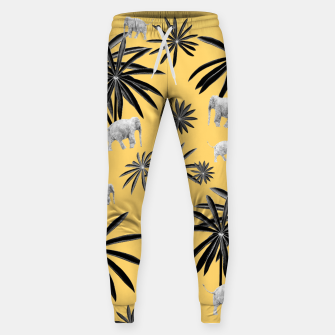 Palm Tree Elephant Jungle Pattern #4 (Kids Collection) #decor #art  Hosen thumbnail image