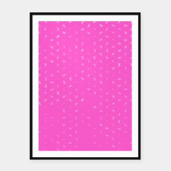 cancer zodiac sign pattern mag Framed poster thumbnail image