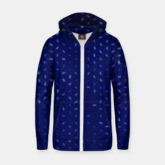 cancer zodiac sign pattern std Zip up hoodie thumbnail image