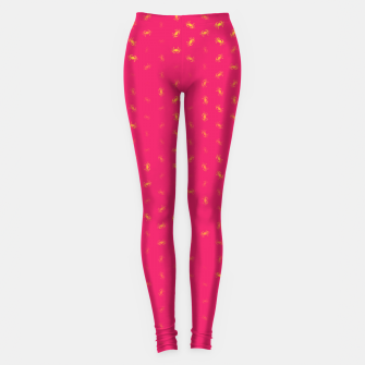 cancer zodiac sign pattern py Leggings thumbnail image
