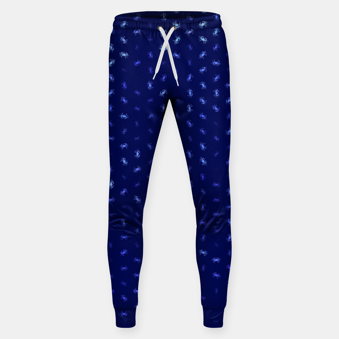 Image of cancer zodiac sign pattern std Sweatpants - Live Heroes