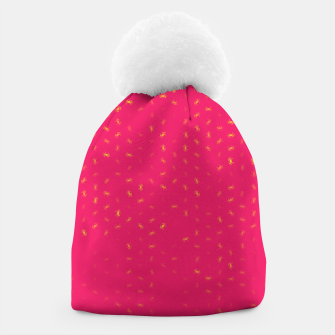 cancer zodiac sign pattern py Beanie thumbnail image
