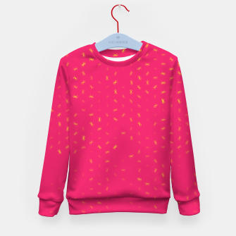 cancer zodiac sign pattern py Kid's sweater thumbnail image
