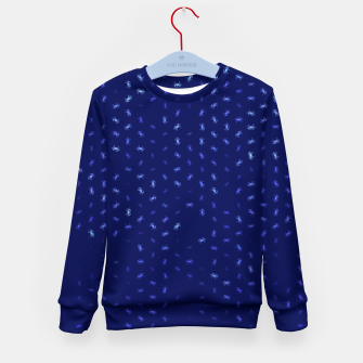 cancer zodiac sign pattern std Kid's sweater thumbnail image
