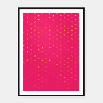 cancer zodiac sign pattern py Framed poster thumbnail image