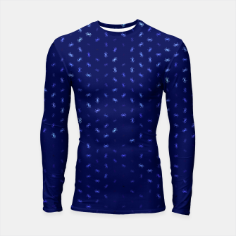 cancer zodiac sign pattern std Longsleeve rashguard  thumbnail image
