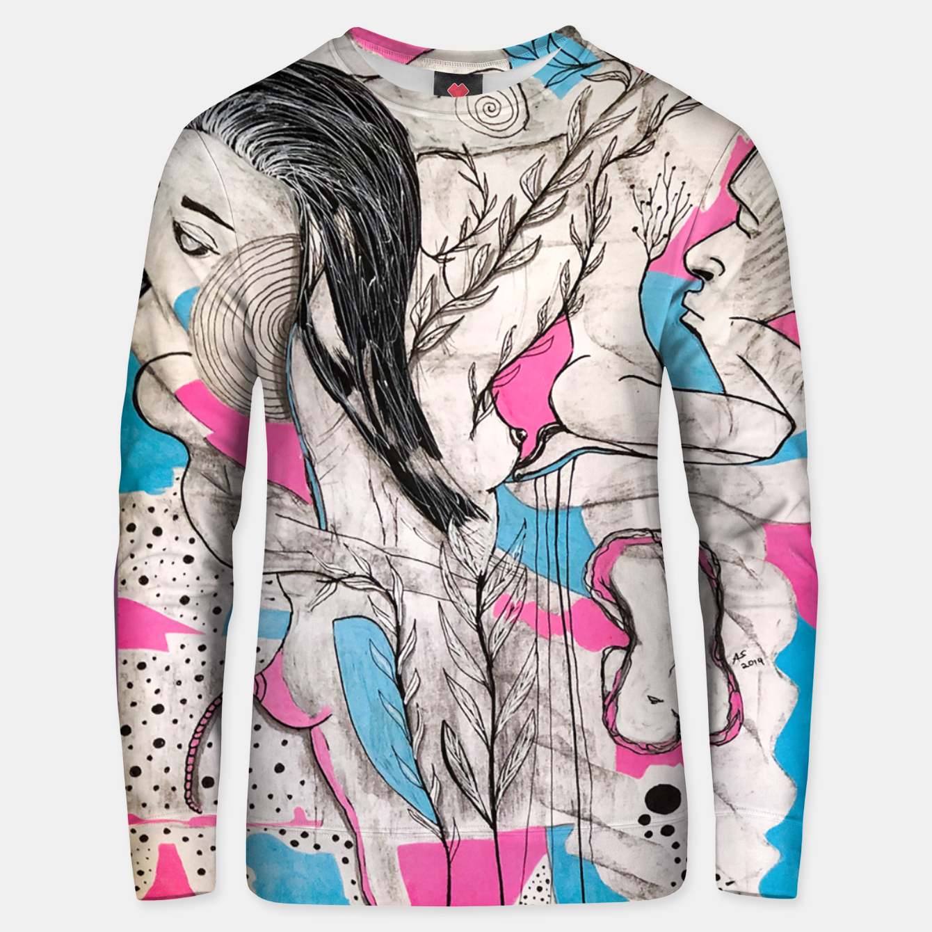 Image of In Love Unisex sweater - Live Heroes