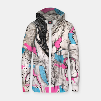 In Love Zip up hoodie thumbnail image