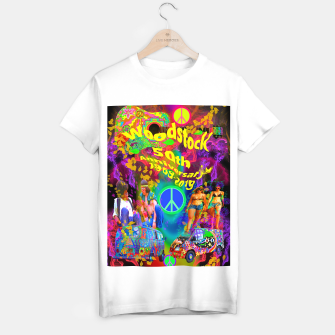 Thumbnail image of Woodstock 50th Anniversary T-shirt regular, Live Heroes
