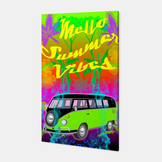 Thumbnail image of Mello Summer Vibes Canvas, Live Heroes