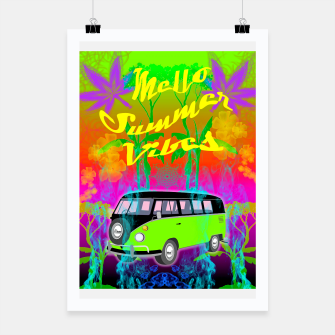 Thumbnail image of Mello Summer Vibes Poster, Live Heroes