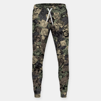 Ahegao camouflage Sweatpants miniature