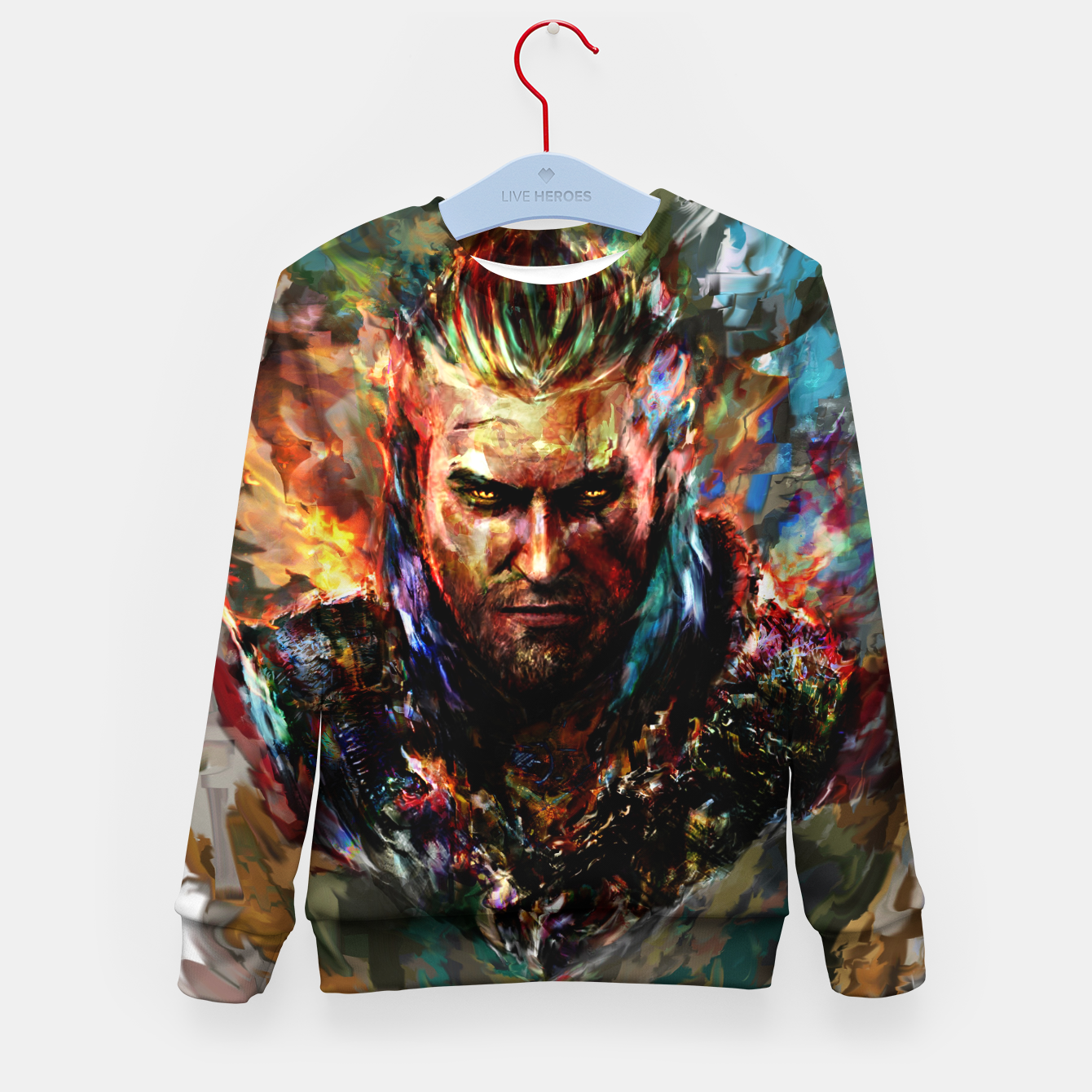 Image of witcher Kid's sweater - Live Heroes