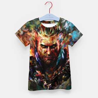 witcher Kid's t-shirt obraz miniatury