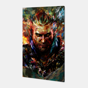 witcher Canvas miniature