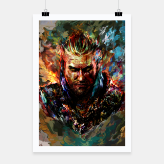 witcher Poster miniature