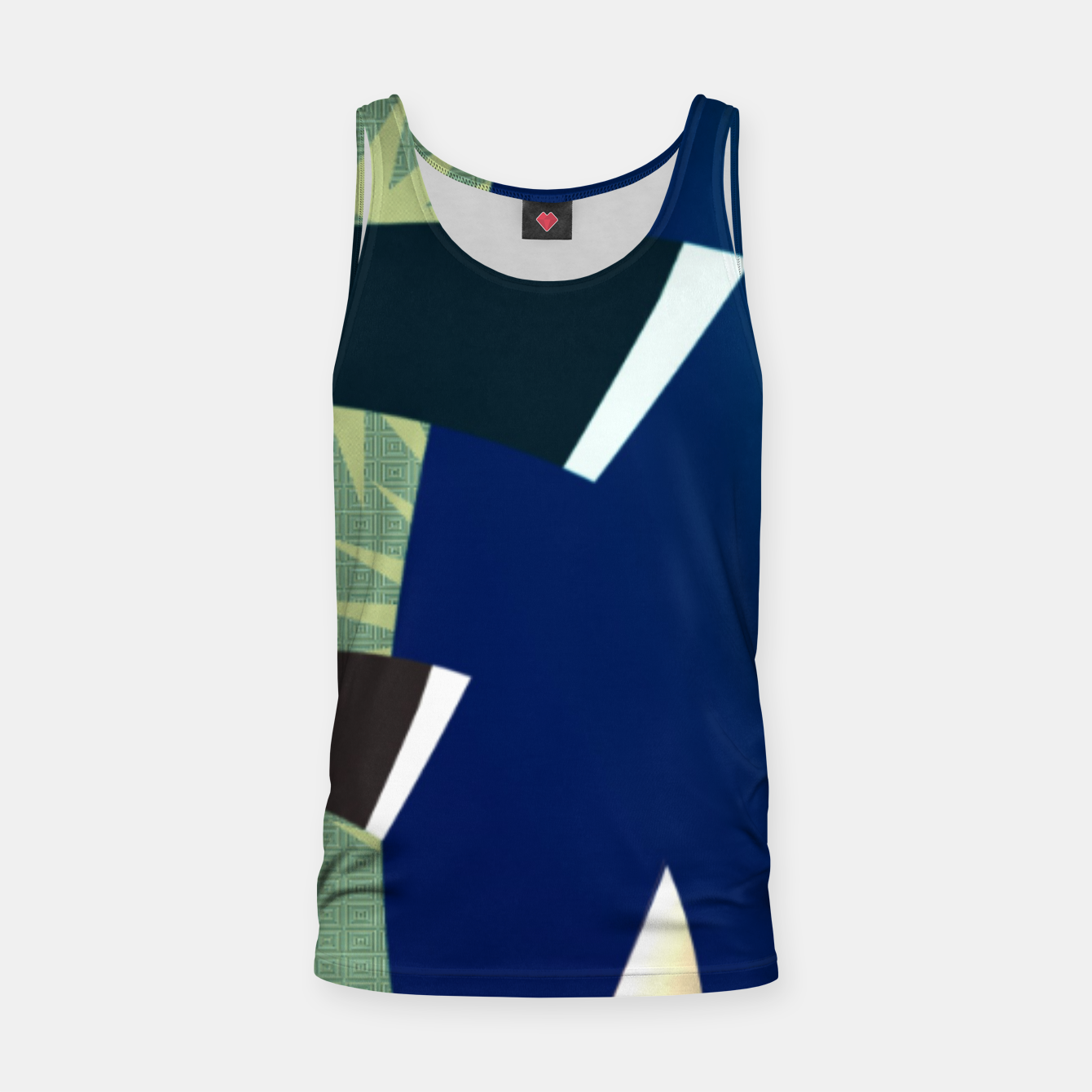 Image of pattern uno  Tank Top - Live Heroes