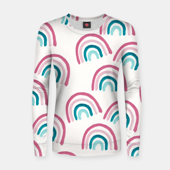 Rainbow Dream Pattern #1 (Kids Collection) #decor #art  Frauen sweatshirt thumbnail image