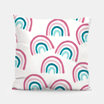 Rainbow Dream Pattern #1 (Kids Collection) #decor #art  Kissen thumbnail image