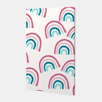 Rainbow Dream Pattern #1 (Kids Collection) #decor #art  Canvas thumbnail image