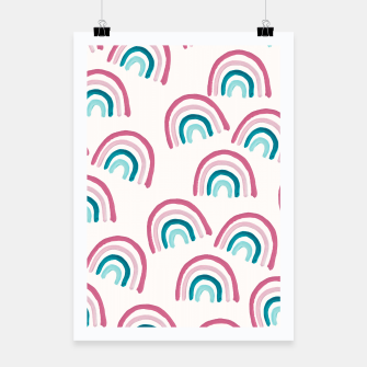 Rainbow Dream Pattern #1 (Kids Collection) #decor #art  Plakat thumbnail image