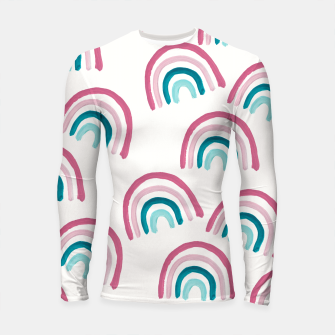 Rainbow Dream Pattern #1 (Kids Collection) #decor #art  Longsleeve rashguard thumbnail image