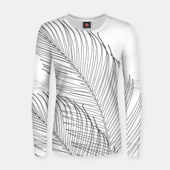 Miniaturka Palm Leaves Finesse Line Art #1 #minimal #decor #art  Frauen sweatshirt, Live Heroes