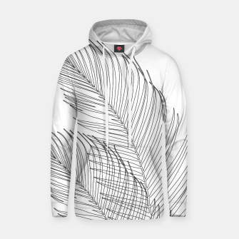 Miniaturka Palm Leaves Finesse Line Art #1 #minimal #decor #art  Kapuzenpullover, Live Heroes