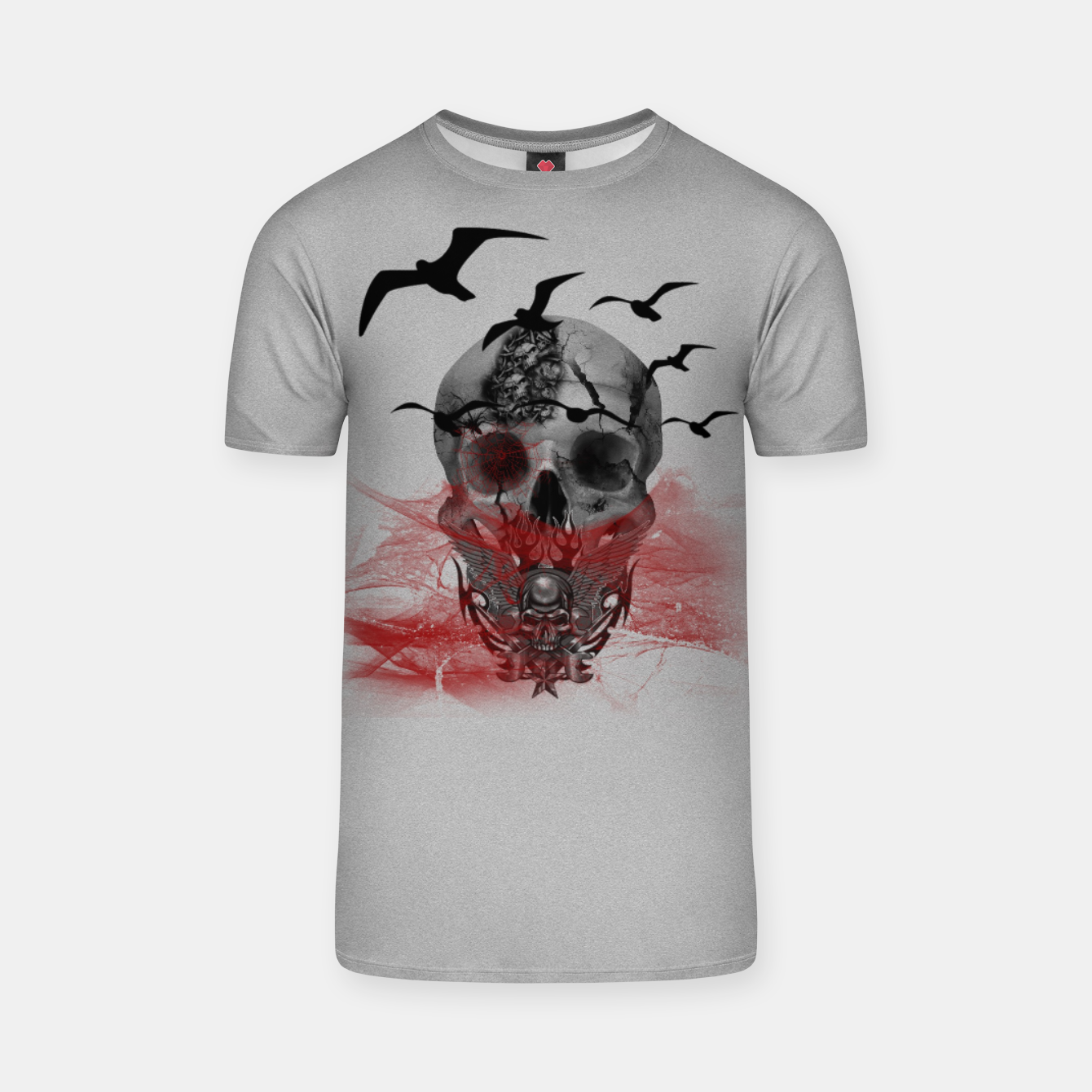 Image of Skull T-Shirt - Live Heroes