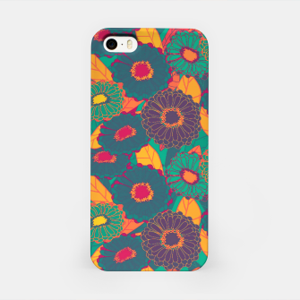 Fantasy Zinnias no.3 iPhone Case thumbnail image