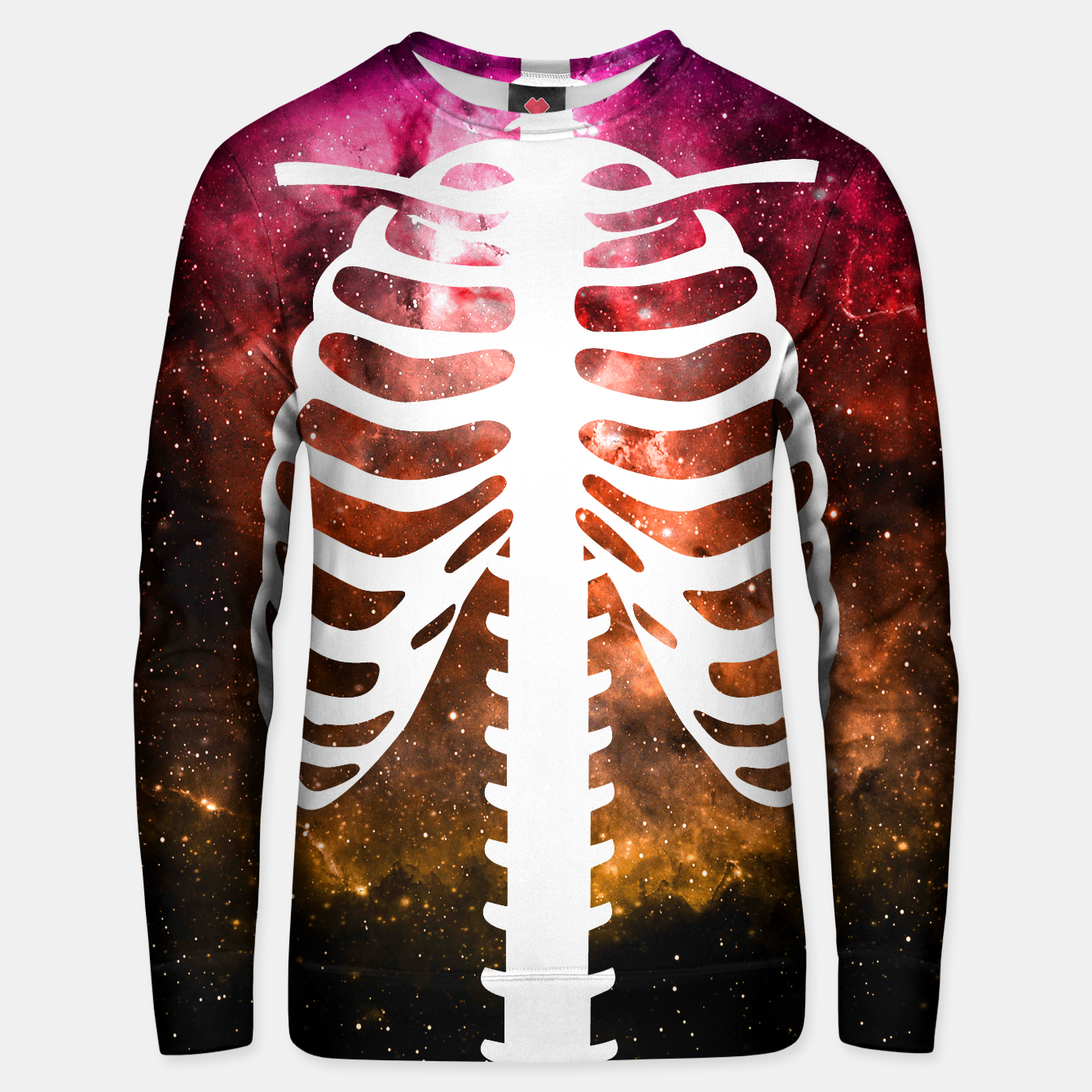 Image of Space Bone Sweater - Live Heroes