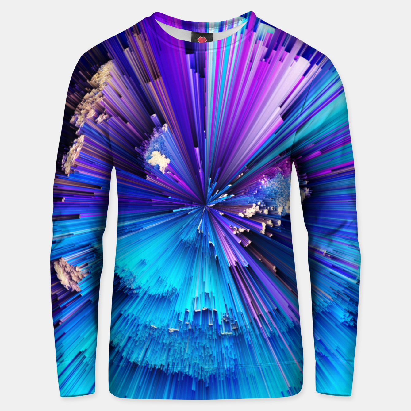 Image of Interference Unisex sweater - Live Heroes