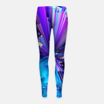 Thumbnail image of Interference Girl's leggings, Live Heroes