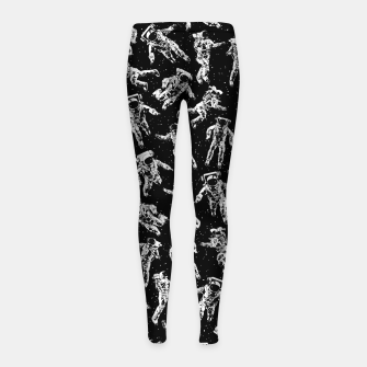 Thumbnail image of I Dream Of Space Girl's leggings, Live Heroes