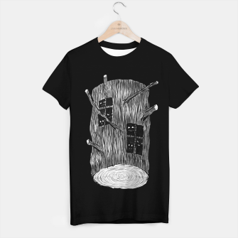 Thumbnail image of Tree Log With Forest Creatures T-shirt regular, Live Heroes