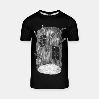 Thumbnail image of Tree Log With Forest Creatures T-shirt, Live Heroes