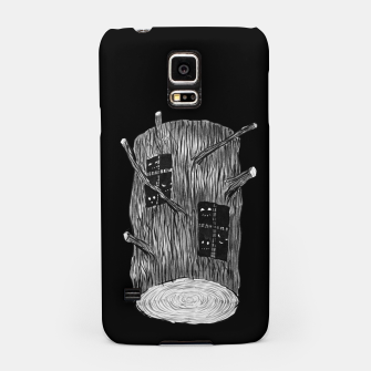 Miniatur Tree Log With Forest Creatures Samsung Case, Live Heroes