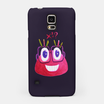 Math Candy Cute Geek Character With Glasses Samsung Case thumbnail image